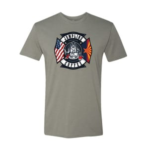 Stone Gray Jumpline Coffee t shirt